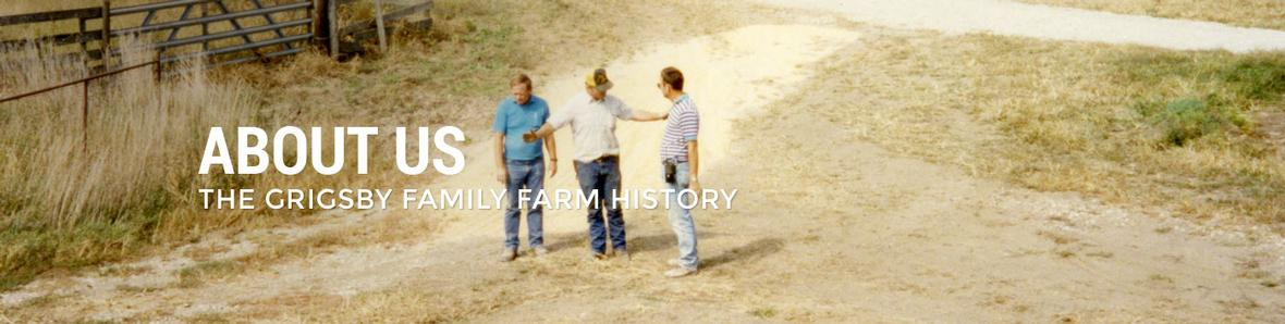 Banner for Grigsby Family becomes Illinois Farmers page