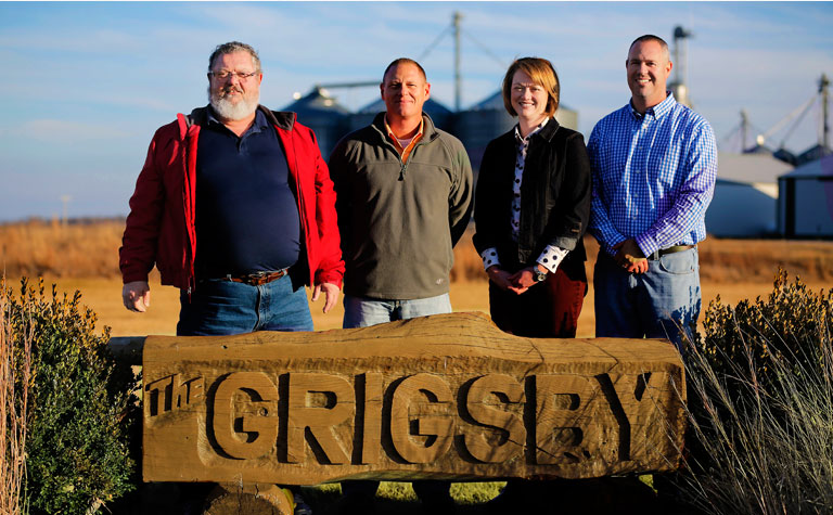 Board of Managers: Joel Grigsby, Robby Grigsby, Christy Hale Pound, Chad Grigsby